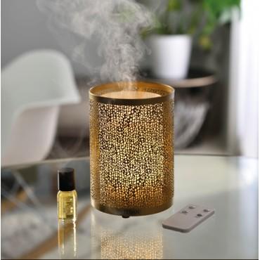 Diffuseur Brume de Parfum Or & lumière ESTEBAN