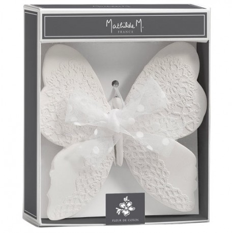 Papillon MATHILDE M - Fleur de Coton