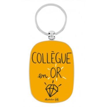 Porte-clé DLP - Collègue en Or