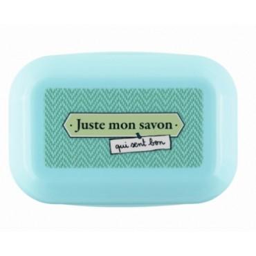 Boite à Savon Bleue Juste mon savon - DLP