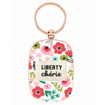 Porte Clés DLP - LIBERTY Chérie
