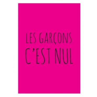 Magnet Les Garçons c'est NUL - DLP