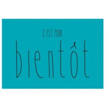 Magnet C'est pour BIENTOT Bleu - DLP