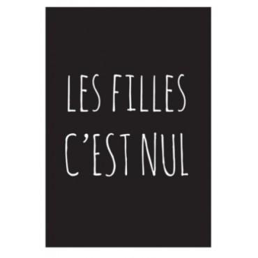 Magnet Les FILLES c'est NUL - DLP