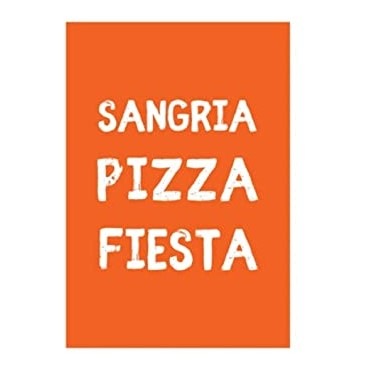 Magnet SANGRIA PIZZA FIESTA - DLP