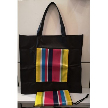 Sac Cabas Pliable Orval - Rayures