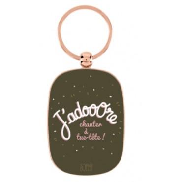 Porte-clés J'ADOOORE - DLP