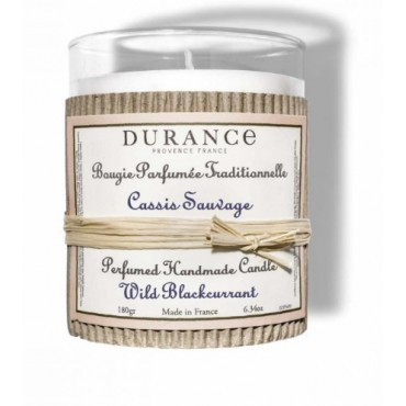 Bougie CASSIS SAUVAGE - DURANCE