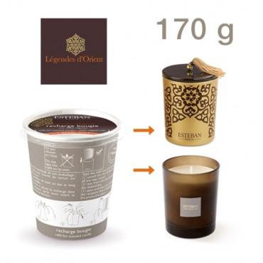 Recharge Bougie Parfumée ESTEBAN - Légende d'Orient