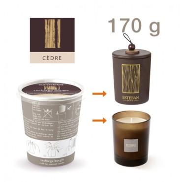 Recharge Bougie Parfumé ESTEBAN - Cèdre