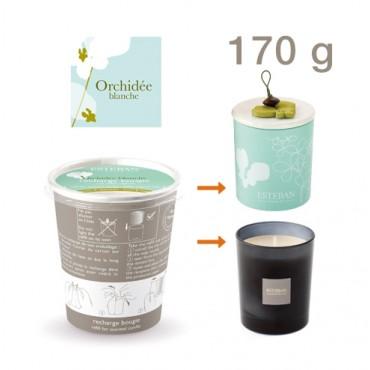 Recharge Bougie Parfumée ESTEBAN - Orchidée Blanche