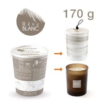 Recharge Bougie Parfumée ESTEBAN - Rêve Blanc