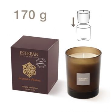 Bougie Parfumée Rechargeable Edition Moka ESTEBAN - Légendes d'Orient