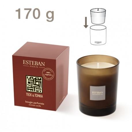 Bougie Parfumée Edition Moka ESTEBAN - Teck et Tonka