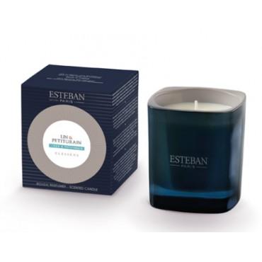 Bougie Parfumée Elessens ESTEBAN - Lin & Petit Grain