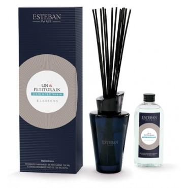 Bouquet Parfumé Elessens ESTEBAN - Lin & Petitgrain