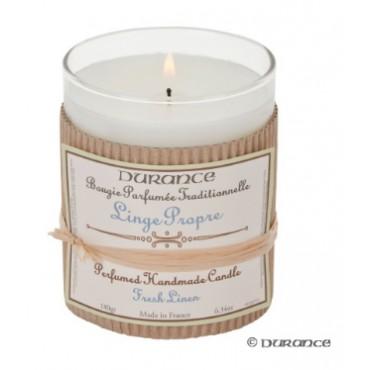 Bougie Parfumée DURANCE - Linge Propre