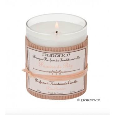 Bougie Parfumé Durance Poudre de Riz