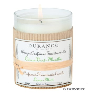 Bougie Parfumée Durance Citron Vert-Menthe